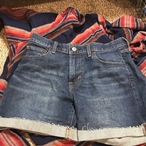 GAP High-Waisted Denim Shorts